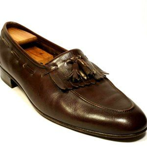 BALLY of Switzerland  Men 12 Brown Leather Loafers